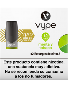 Vype Epen 3 Menta Tabaco